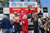 CART Indy Car Long Beach Winner's Circle