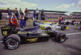 Ayrton Senna and Nigel Mansell