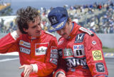 Alain Prost and Nigel Mansell