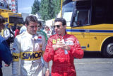 Alessandro Nannini and Michele Alboreto