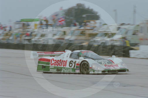 On March 19, 1988, number 61, a Jaguar XJR-9 D co-driven by Jan Lammers, Davy Jones, Danny Sullivan and John Nielsen finished 2nd overall at the 12 Hours of Sebring.