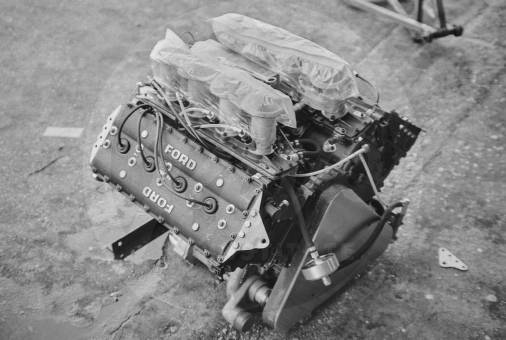 Cosworth-Ford 3.0l DFL V8 engine, endurance variant of the DFV.