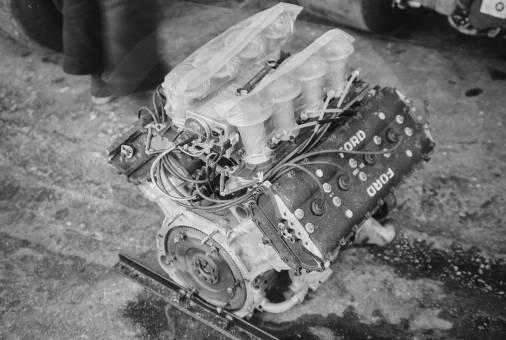 Cosworth-Ford 3.0l DFL V8 engine, endurance variant of the DFV.