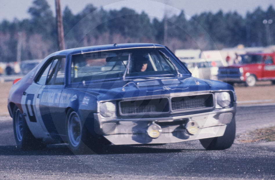 January 31-February 1, 1970 Car #0, AMC Javelin, raced by Mark Donohue and Peter Revson, sponsored by Sunoco, owned by Roger Penske