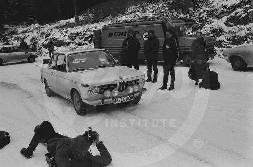 1969 Monte Carlo Rally Porsche and BMW Training