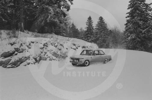 1969 Monte Carlo Rally Porsche and BMW Training